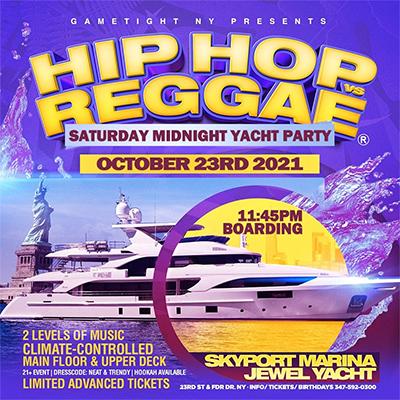NYC The 90s / 2000 NYC Midnight Cruise Skyport Marina Jewel Yacht Tickets Party | GametightNY.com