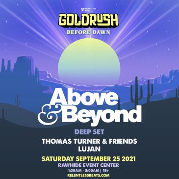Above & Beyond (Deep Set) | Goldrush Day 2 Afterparty: