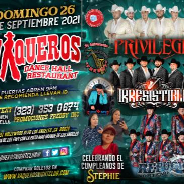 Privilegio / Irresistible / Refugio Norteno-img