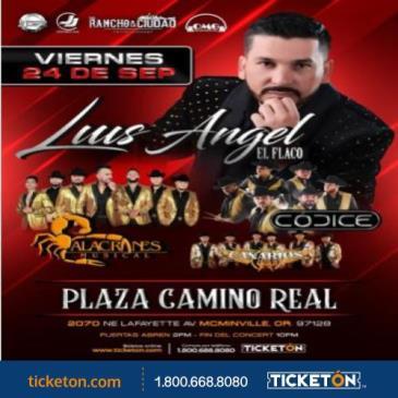 LUIS ANGEL EL FLACO Y ALACRANES MUSICAL