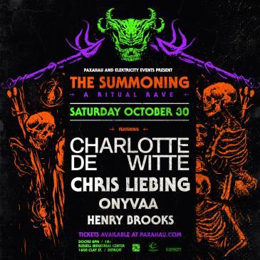 Charlotte de Witte w/ Chris Liebing + ONYVAA + Henry Brooks: