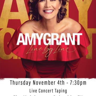 Amy Grant: Line By Line Tour - Live Concert Taping-img