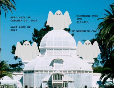 NERD NITE SF #121: Jazz, Mythbusting & a Rotten City: