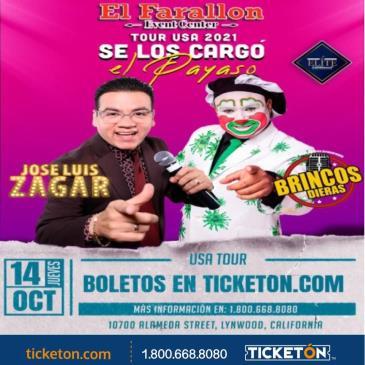 TOUR USA 2021 SE LOS CARGO EL PAYASO