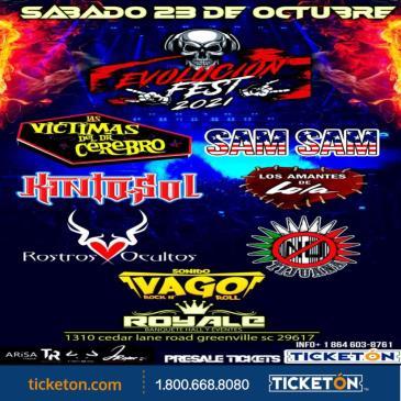 EVOLUCION FESTIVAL TOUR 2021 EN SC:
