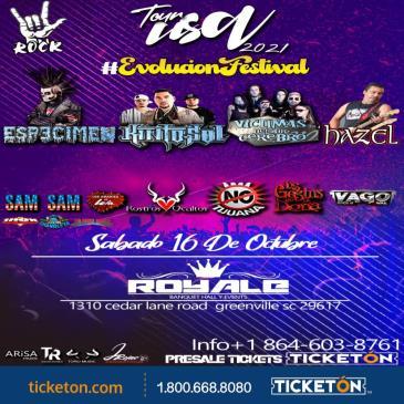 EVOLUCION FESTIVAL TOUR 2021 EN SC
