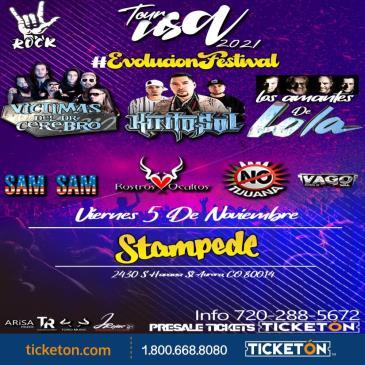 EVOLUCION FESTIVAL TOUR 2021 EN AURORA CO