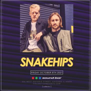 Snakehips at Sound-Bar: