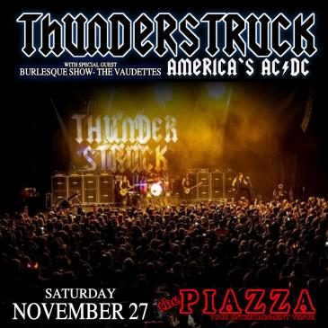 America's AC/DC - Thunderstruck wsg The Vaudettes: