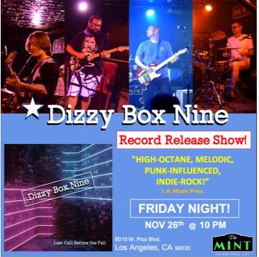 EOTP, Next Door To Heaven, Dizzy Box Nine: