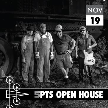 5PTS Open House: DogRocket Blues Band: