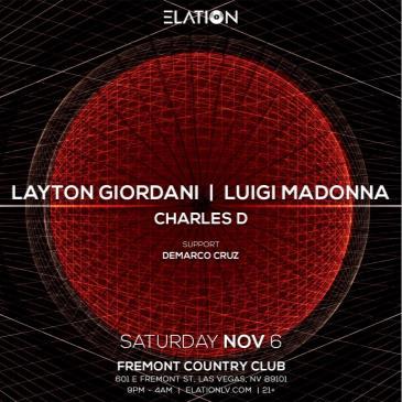 Elation presents Layton Giordani, Luigi Madonna, Charles D: