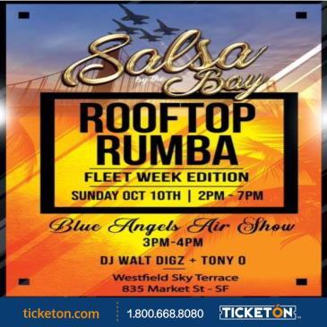 SALSA BY THE BAY ROOFTOP RUMBA - FLEET WEEK EDITION