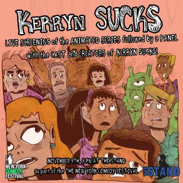 NYCF Presents: Kerryn Sucks:
