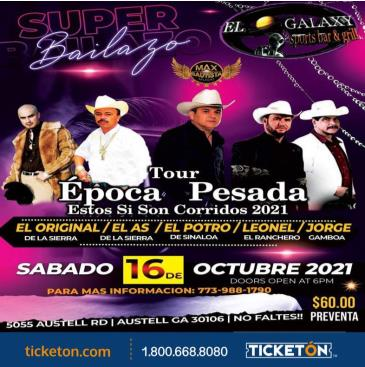 TOUR EPOCA PESADA EN AUSTELL GA:
