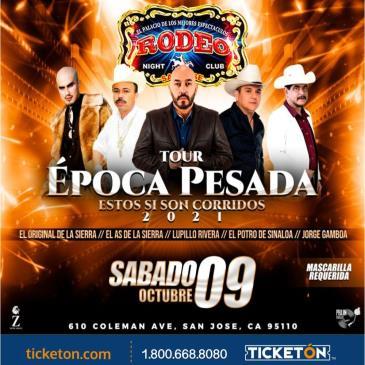 TOUR EPOCA PESADA EN SAN JOSE CA: