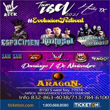 EVOLUCION FESTIVAL TOUR 2021 EN HOUSTON TX
