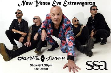 Chocolate Starfish New Years Eve Extravaganza: