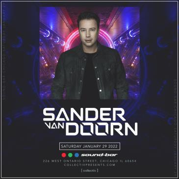 Sander Van Doorn at Sound-Bar: