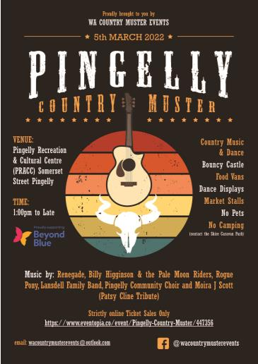 Pingelly Country Muster: