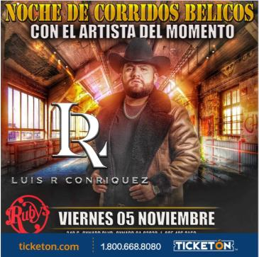 LUIS R CONRIQUEZ: