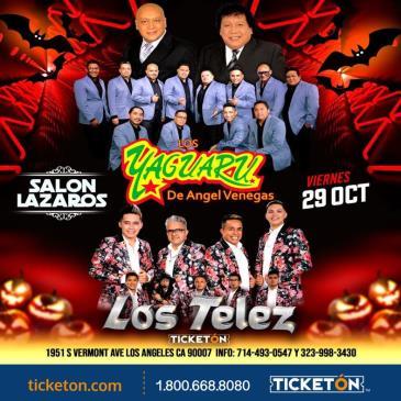YAGUARU Y LOS TELEZ EN LOS ANGELES