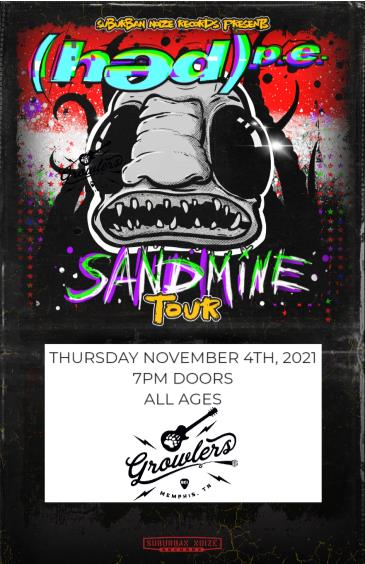 (hed) p.e. - Sandmine Tour w/ Andrew W. Boss and more!: