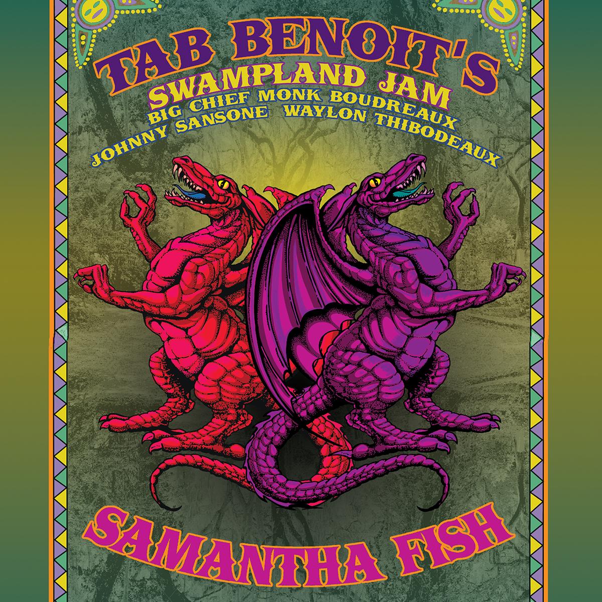 TAB BENOIT'S SWAMPLAND JAM + SAMANTHA FISH BAND