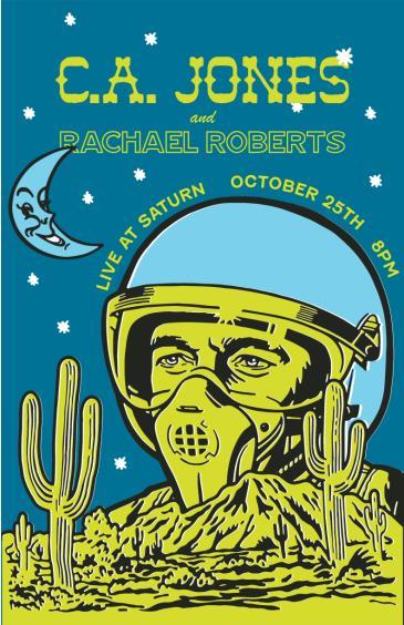 Parachute Show: C.A. Jones & Rachel Roberts: