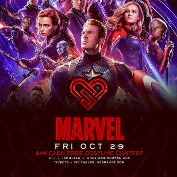 Marvel / Friday October 29th / Heart: