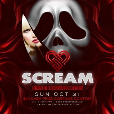 Scream / Sunday October 31st / Heart: