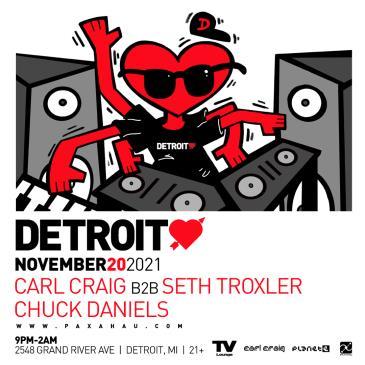 Paxahau Presents Detroit Love: