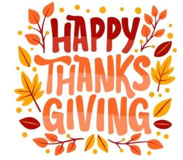 Happy Thanksgiving!: