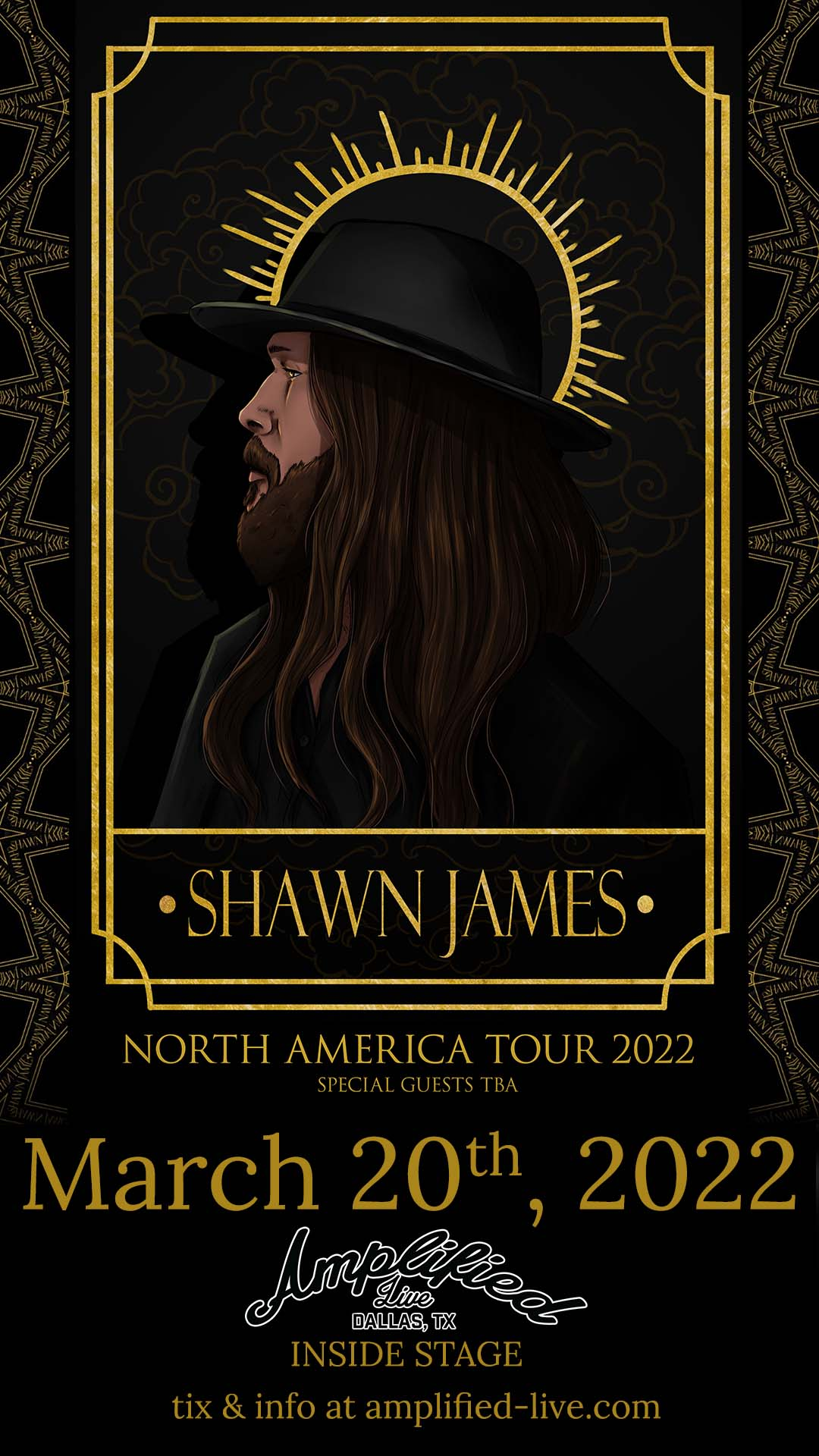 Shawn James – INSIDE STAGE