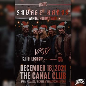 Savage Hands' Annual Holiday Show: