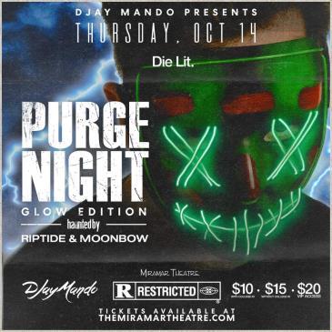 DJay Mando Presents: Purge Night: