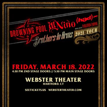Drowning Pool & Ill Nino: Brothers In Arms Tour-img
