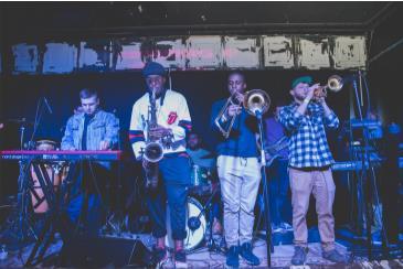 Jazz Jam with Omar's Hat: