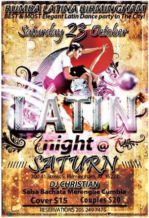 Rumba Latina Birmingham Latin Night: