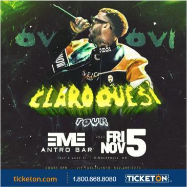 CLARO QUE SI TOUR: