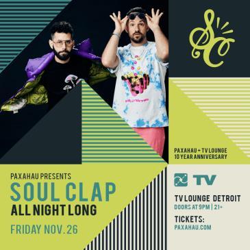 Paxahau Presents: Soul Clap - All Night Long-img