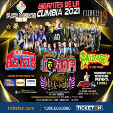 GIGANTES DE LA CUMBIA 2021