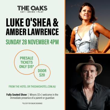Luke O'Shea and Amber Lawrence-img