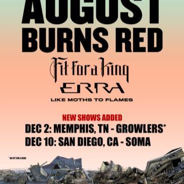 August Burns Red - Leveler 10 Year Anniversary Tour-img