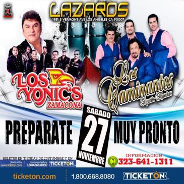 LOS YONICS - LOS CAMINANTES