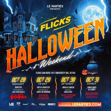 Flicks Halloween Weekend-img