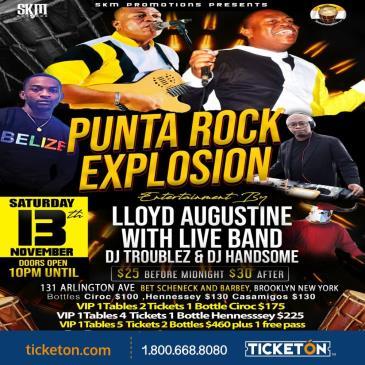 PUNTA ROCK EXPLOSION