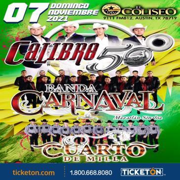 CALIBRE 50 - BANDA CARNAVAL Y MAS!