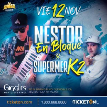 NESTOR EN BLOQUE Y SUPERMERK2 EN LOS ANGELES
