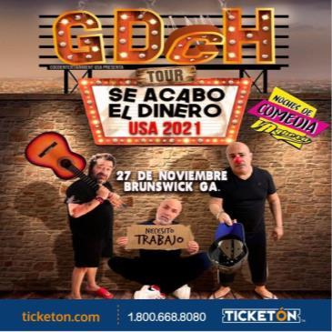 GDCH - SE ACABO EL DINERO TOUR USA 2021